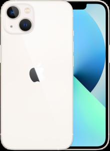 iPhone 13 på afbetaling i Starlight farve